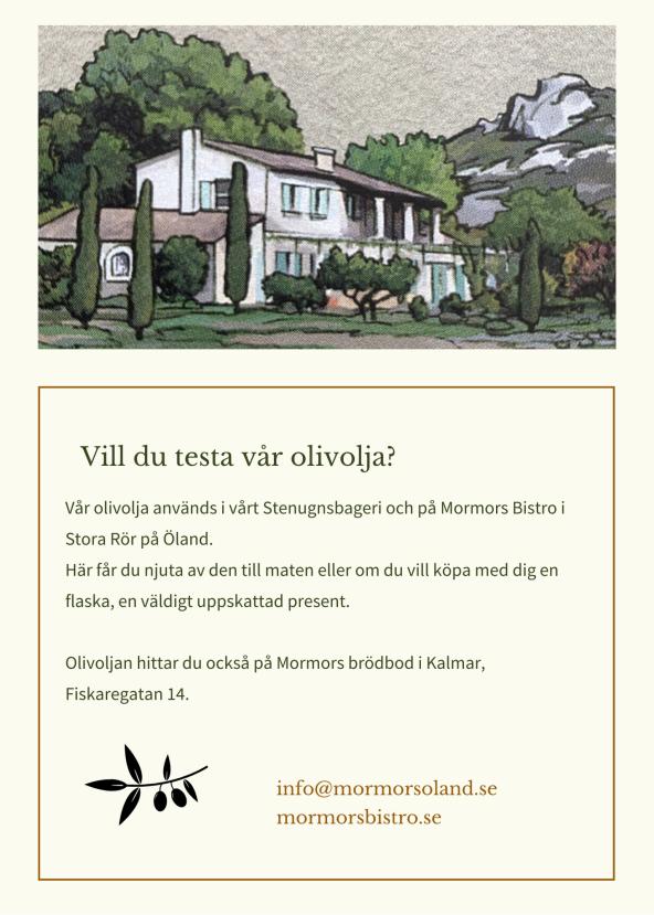 Olivolja Öland