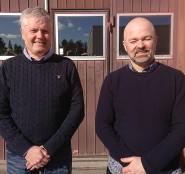 Mikael Grinde och Robert Dahlberg