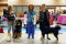 Tibethund 2017 Vasco BIR valp och Amy BIM valp.
