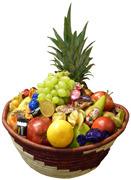 Ugandakorg med Frukt