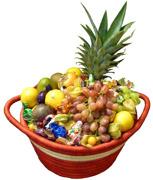 Ugandakorg med Exotisk Frukt