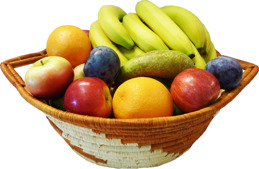 Fruktblandning Banan + - Fruktblandning Banan + 4kg ca 5 pers
