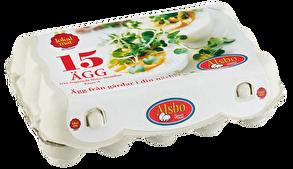 Ägg vita 15-pack