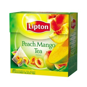 Lipton - Peach Mango Pyramidpåse Lipton 20p