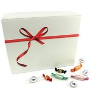 Presentlåda med godis