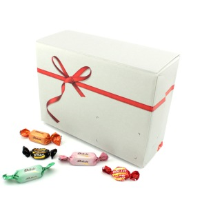 Godisbox med Röd Rosett 4kg - Godisbox med Röd Rosett 4kg