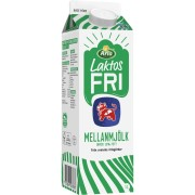 Mellanmjölk Laktosfri 1,5% 1l Arla Ko