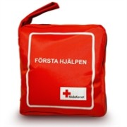 Förstahjälpenväska 3-fickors RödaKorset