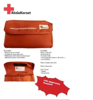 Midjeväska Rödakorset -