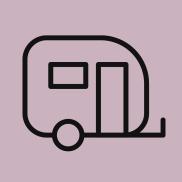 checka in husvagn husbil