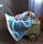 Lilla Snigel 300 ny blå och grå
