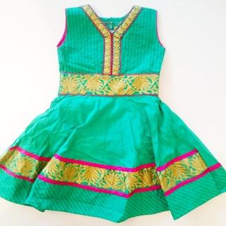 Barnklänning fest - Ariel - Ariel Grön stl. 26