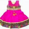 Indisk barnklänning - Anna - Anna Cerise stl. 30