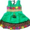 Indisk barnklänning - Anna - Anna Grön stl. 28
