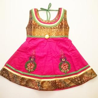 Barnklänning Diza flera färger - Diza Cerise stl. 16