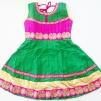 Barnklänning - Belle - Belle Grön stl. 32