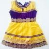 Barnklänning - Belle - Belle Gul stl. 32