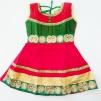 Barnklänning - Belle - Belle Röd stl. 30