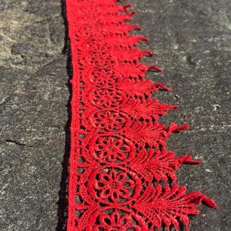 Spets Röd 7 meter - Röd 7 meter