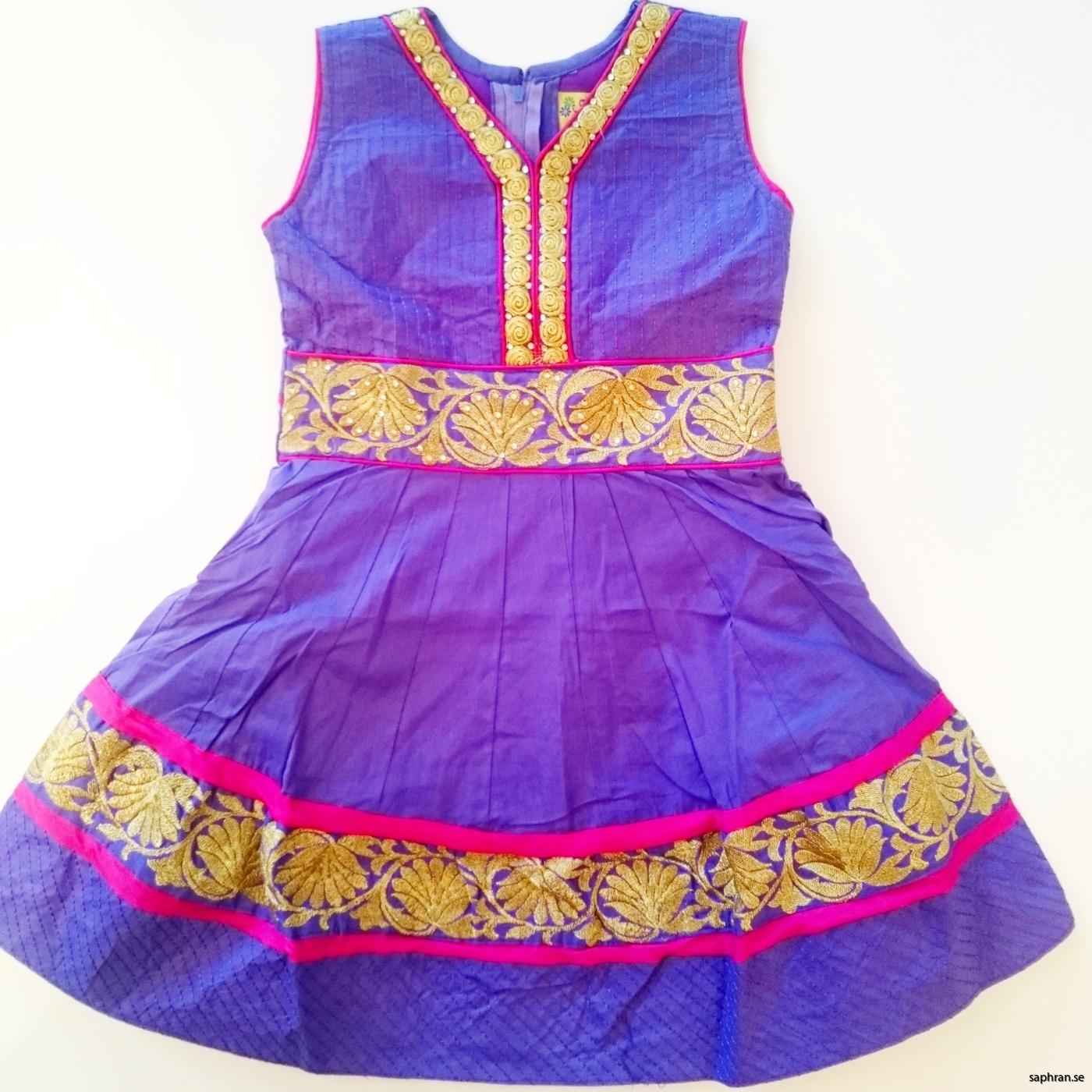 Barnklänning fest Ariel Lila