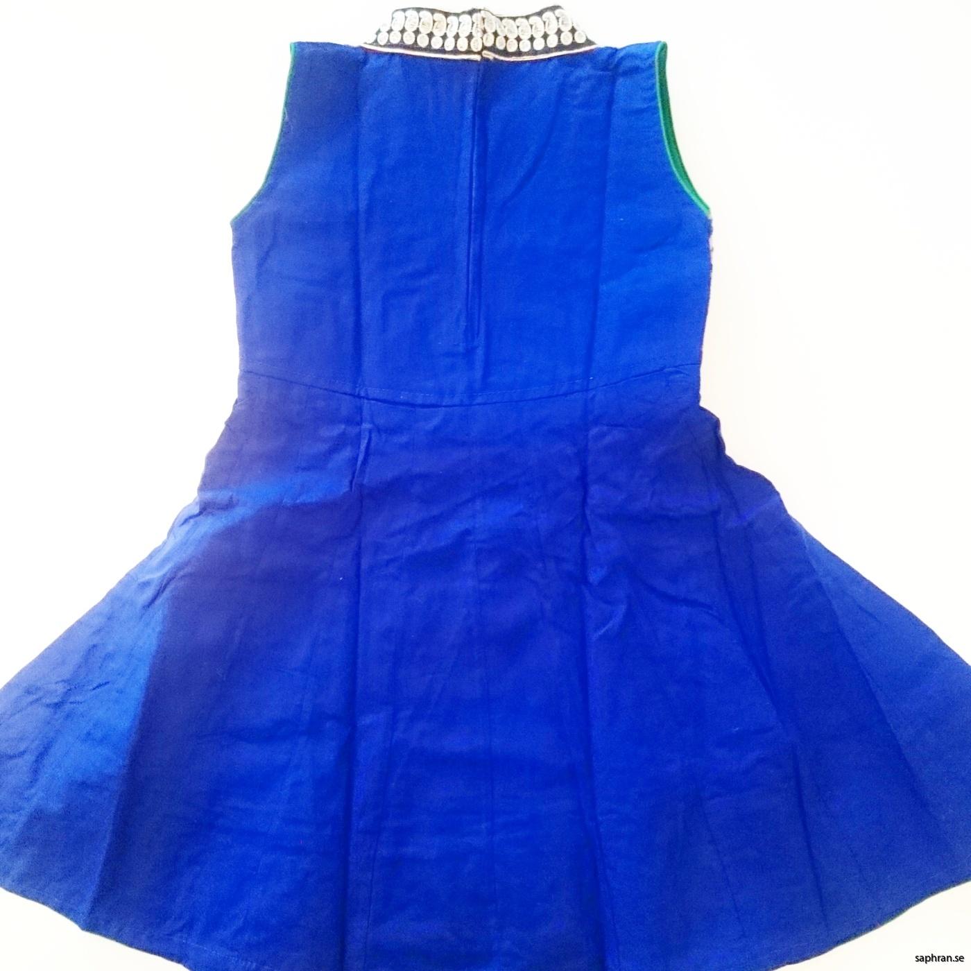 Barnklänning Aurora Blå bak