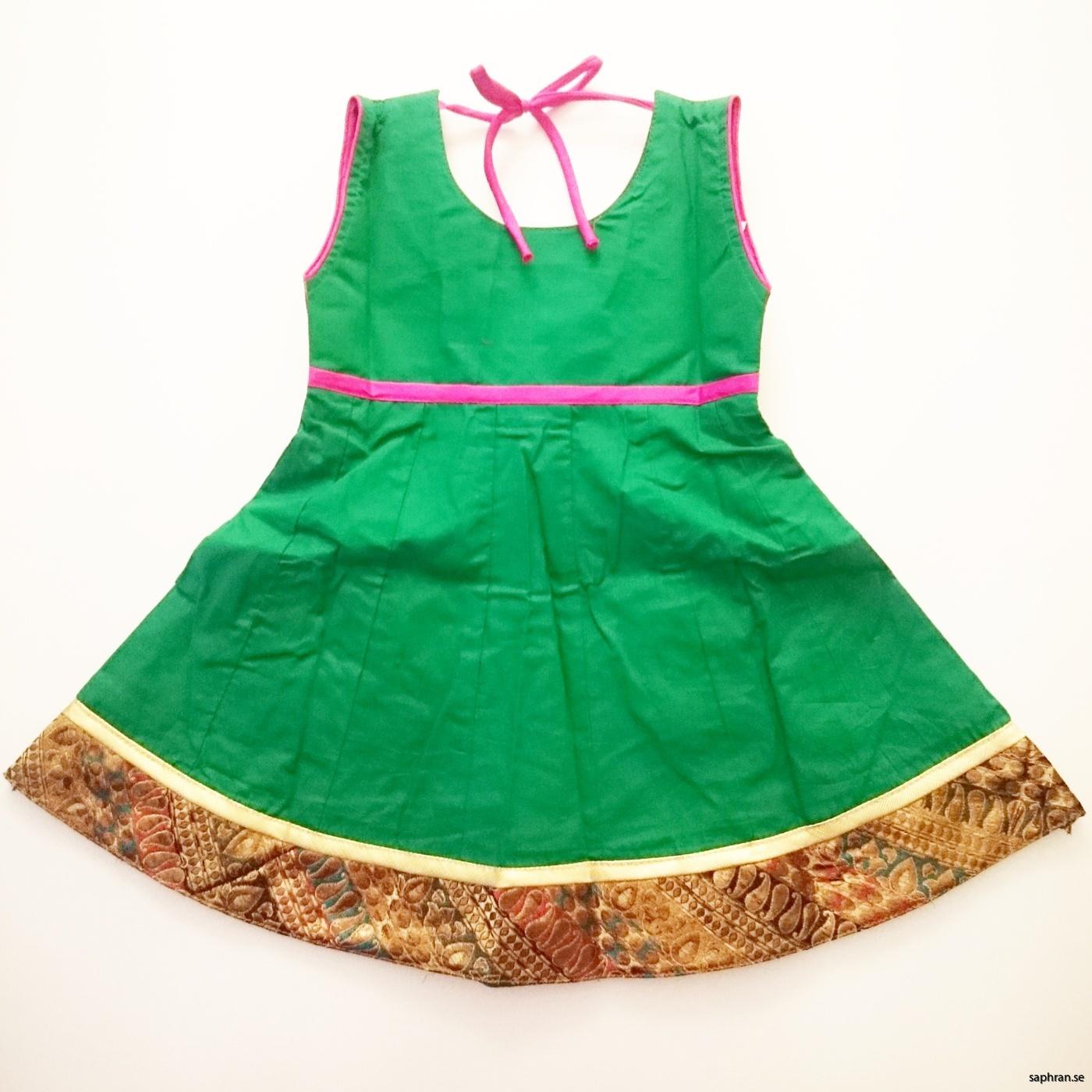 Indisk barnklänning