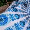 Peacock Mandala Turkos två olika färger
