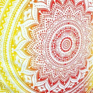 Flower Mandala Orange - Orange