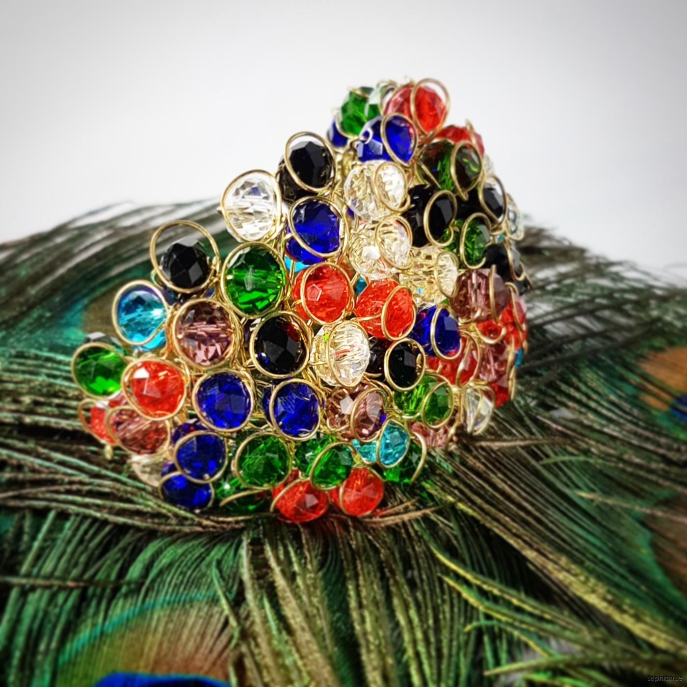 Orientaliskt armband med massa glitter och glamour