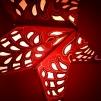 Orientaliskt röd julstjärna/adventsstjärna - RÖD - Röd julstjärna