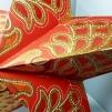 Orientaliskt röd julstjärna/adventsstjärna - RÖD