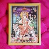 Tavla hinduiska gudar - Durga