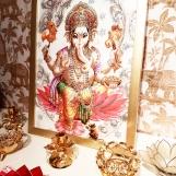 Tavla hinduiska gudar - Ganesh