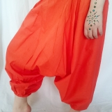 Haremsbyxor barn Orange