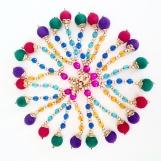 Miniplyschbollar flera olika färger