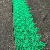 Spets Blomma Grön 4 meter