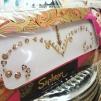 Smycke Bindi bridal/bröllop - Guld - Guldiga bridal bindi