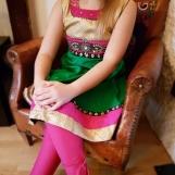 Barnklänning Tiana flera färger