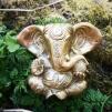 Stor Ganesh, staty mässing