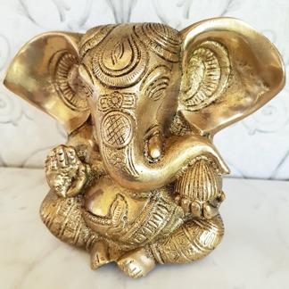 Stor Ganesh, staty mässing - Ganesh staty