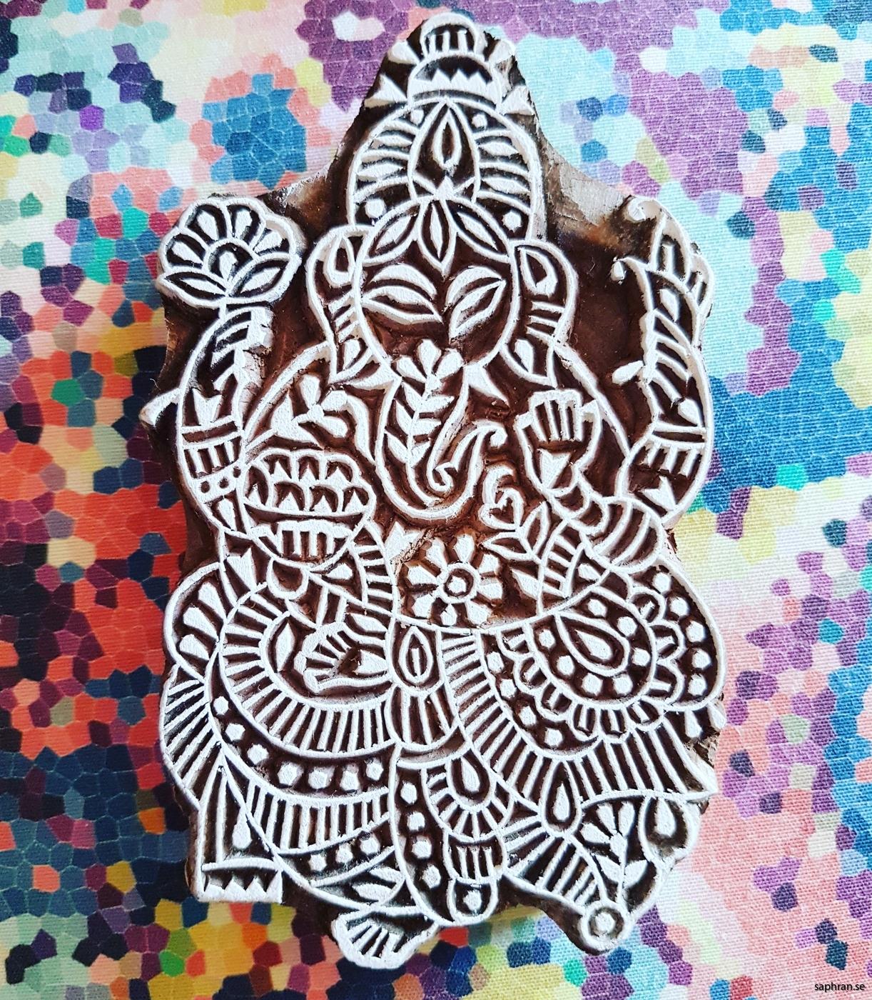 Fixa trycket med dessa handgjorda indiska trästämplar