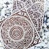 Indisk trästämpel Marrakech