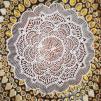 Indiska trästämplar Mandala - Indisk trästämpel Mandala