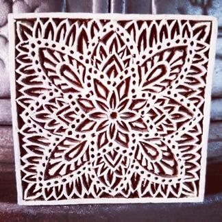 Indisk trästämpel Marrakech - Indisk trästämpel Marrakech
