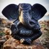 Svart Ganesh staty - Svart Ganesh staty