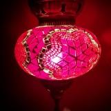 Orientalisk lykta Röd