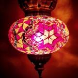 Orientalisk lykta Röd och orange