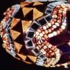 Orientalisk lykta Brun och guld - Brun och guld