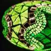 Orientalisk lykta Grön - Grön