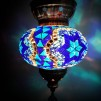 Orientalisk lykta Blå & turkos